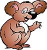 Vector clipart: Koala