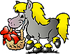 Vector clipart: Pony Horse