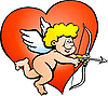 Vector clipart: Amor Angel Boy