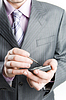 Close-up of businessman | Stock Foto