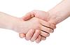 握手 | 免版税照片