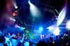 人们在放松音乐会 | 免版税照片