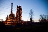 工业油工程 | 免版税照片