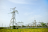 Electrical towers | Stock Foto