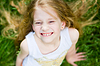 Smiling cute little girl | Stock Foto