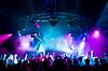 人们挂在音乐会 | 免版税照片