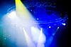 Spotlights at concert | 免版税照片