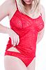 ID 3288393   红色内衣特写女性身体   高分辨率照片   CLIPARTO
