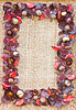 Decorative autumn frame | 免版税照片