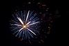 Colorful firework splash | 免版税照片