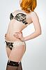 Beautiful girl in lingerie | Stock Foto