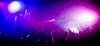 全景照片的人挂在音乐会 | 免版税照片