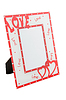 Photo frame with hearts | Stock Foto