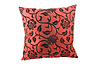 Red decorative pillow | 免版税照片