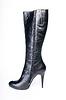Black female boots | Stock Foto