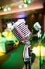Vintage microphone   Stock Foto