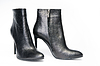 Pair of black female boots | Stock Foto
