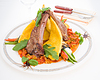 Meat and vegetables | Stock Foto