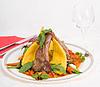 肉和蔬菜 | 免版税照片