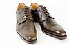 皮革男鞋 | 免版税照片