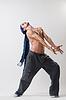 行使表达舞者 | 免版税照片