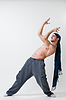 Young athletic dancer exercising | Stock Foto