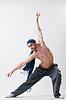 年轻的舞者行使 | 免版税照片