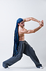 Dancer exercising | 免版税照片