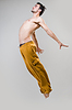 Young active dancer jumping | Stock Foto