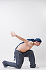 Young dancer exercising | Stock Foto
