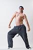 Young dancer exercising   Stock Foto