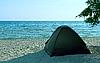Photo 300 DPI: Tent on the beach