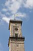ID 3068141 | Clock tower against blue sky with clouds | High resolution stock photo | CLIPARTO