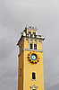 Clock tower against cloudy sky | Stock Foto