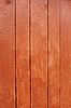 Parallel wooden planks, painted in red   Stock Foto