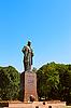 诗人塔拉斯舍甫琴科纪念碑 | 免版税照片