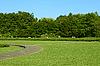Photo 300 DPI: Park in Lviv, Ukraine. Summer heat