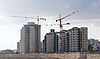 Construction of residential buildings | Stock Foto
