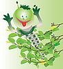 Vector clipart: caterpillar