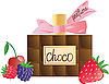 Vector clipart: chocolate flavor