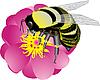 Vector clipart: bumblebee