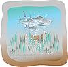 Vector clipart: herring