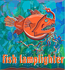 Vector clipart: fish  lamplighter