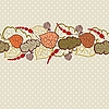 Vector clipart: Autumn background