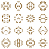 Vector clipart: Victorian crown and decorative elements