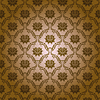 Vector clipart: seamless damask floral pattern
