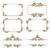 Vector clipart: decorative frames