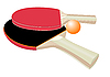Vector clipart: Table tennis rackets