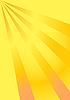 Векторный клипарт: Желтые лучи