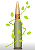 Vector clipart: Cartridge and branch
